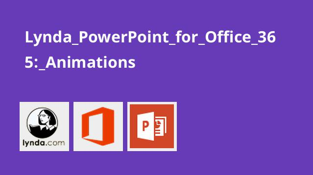Lynda PowerPoint for Office 365: Animations