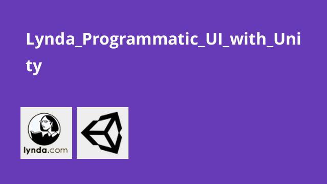 ساخت رابط گرافیکیUnity با کدنویسی