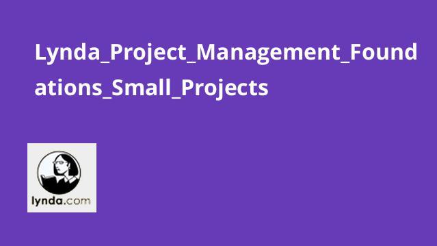 آموزش پروژه های کوچک در مدیریت پروژه