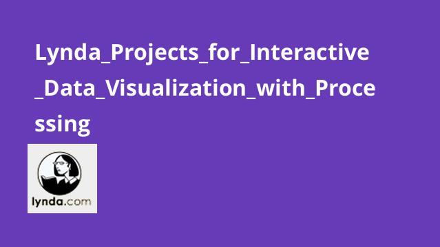دوره Projects for Interactive Data Visualization with Processing