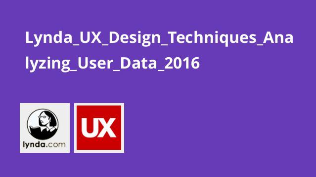 Lynda UX Design Techniques Analyzing User Data 2016