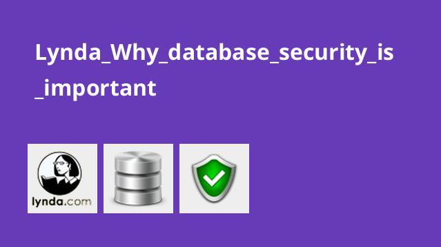 چرا امنیت پایگاه داده اهمیت دارد؟