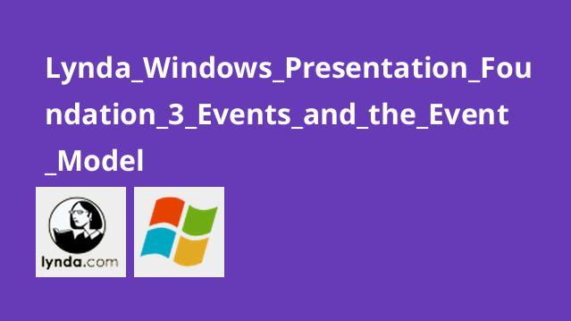 آموزش WPF قسمت سوم: رویدادها و مدل رویداد