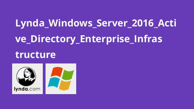 زیر ساخت اکتیو دایرکتوری در Windows Server 2016