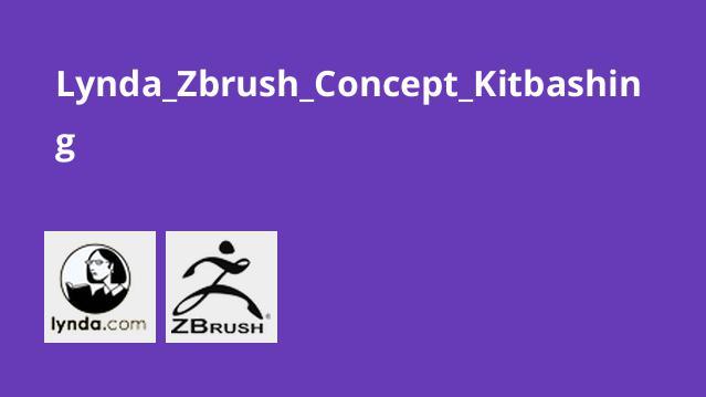 آموزش تکنیکKitbashing درZbrush