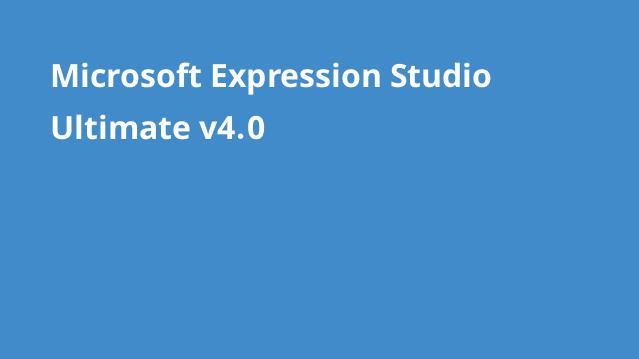 دانلود-microsoft-expression-studio-ultimate-v4-0