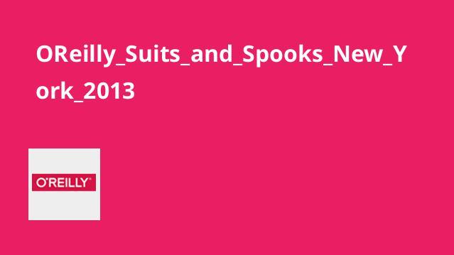 مجموعه Suits and Spooks New York 2013
