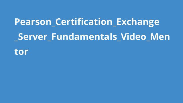 آموزش اصول Exchange Server