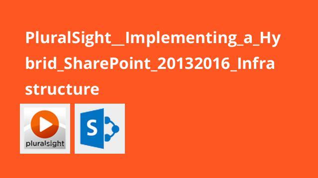 پیاده سازی زیرساخت SharePoint 2013/2016