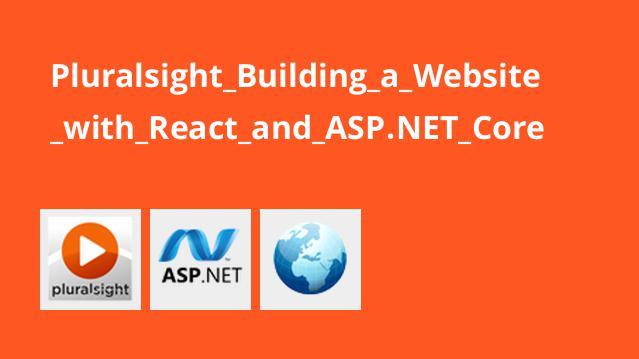 آموزش ایجاد وب سایت با React وASP.NET Core