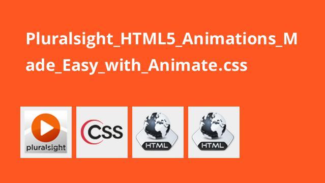 آموزش ایجاد انیمیشن هایHTML5 باAnimate.css