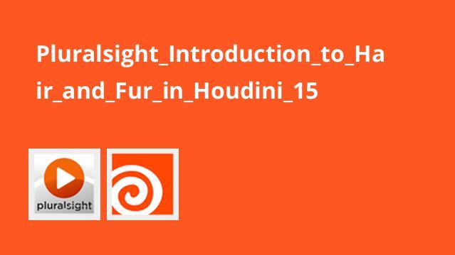 آشنایی با مو و خز در Houdini 15