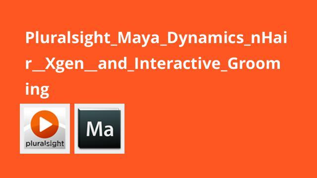 آموزش داینامیک مایا – nHair، Xgen و Interactive Grooming