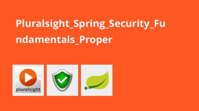 اصول امنیت در Spring