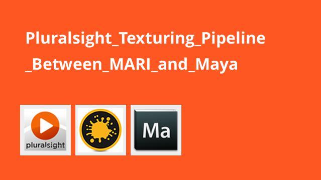 آموزش نقاشی بافت بین MARI و Maya