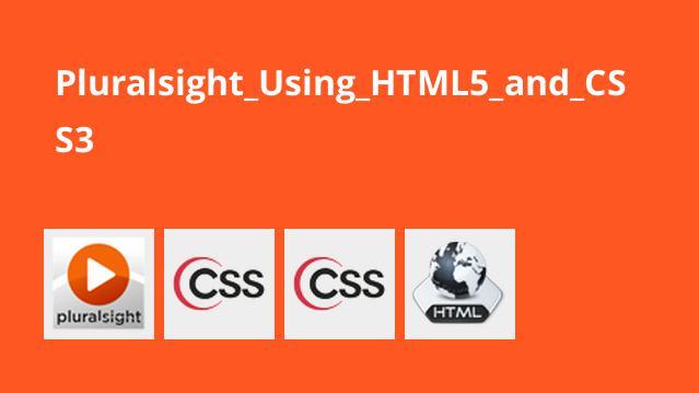 آموزش استفاده از HTML5 و CSS3