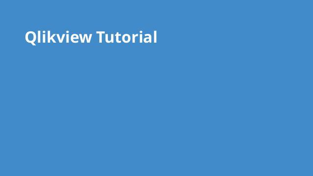 آموزش کامل نرم افزار Qlikview – گیت