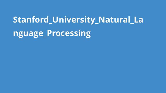 دوره پردازش زبان طبیعی دانشگاه Stanford