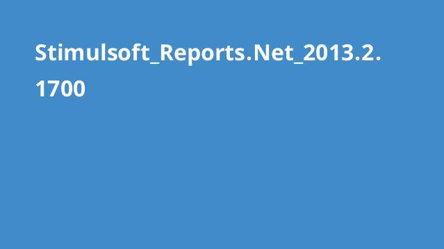 نرم افزار Stimulsoft Reports 2013