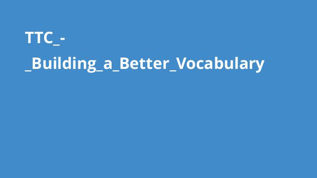 TTC_-_Building_a_Better_Vocabulary