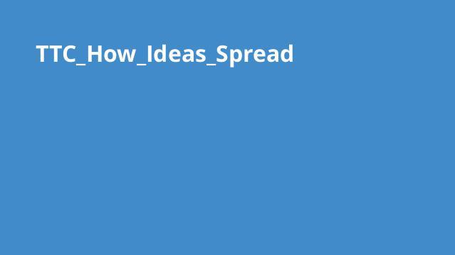 چگونه ایده ها گسترش می یابند؟