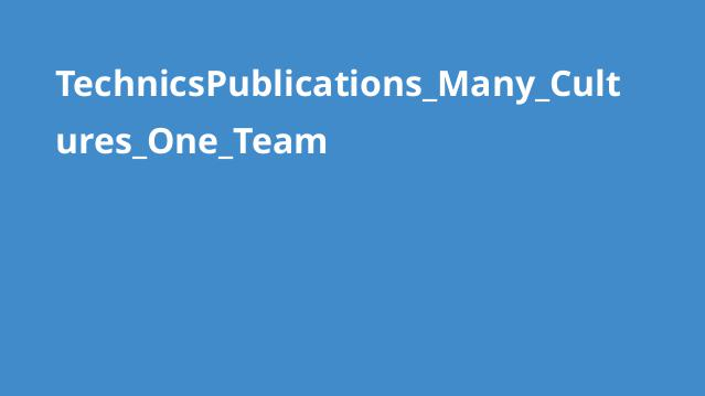 TechnicsPublications_Many_Cultures_One_Team