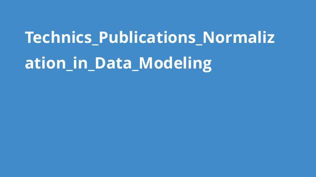 آموزشنرمال سازی در مدل سازی داده