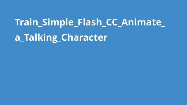 ساخت انیمیشن صحبت کردن کاراکتر با Flash CC