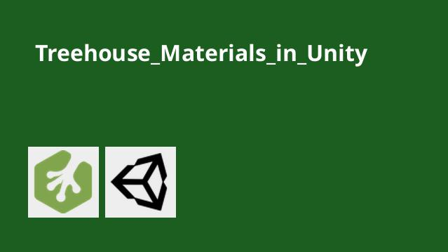 کار با مواد در Unity