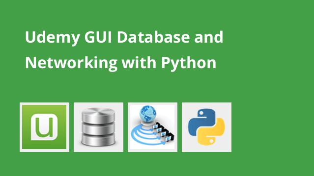 Udemy GUI Database and Networking with Python – گیت