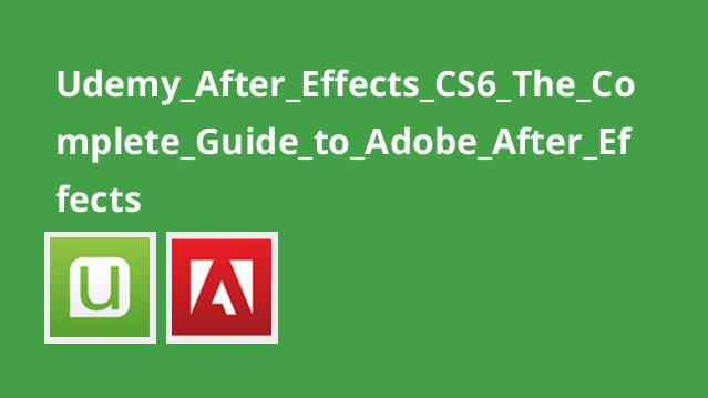 آموزش کامل Adobe After Effects CS6