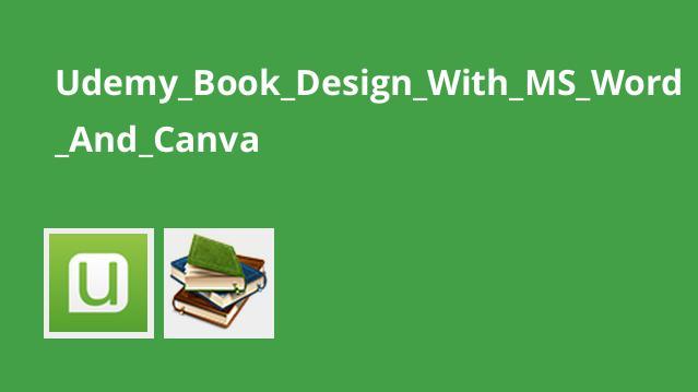 طراحی کتاب با Word و Canva