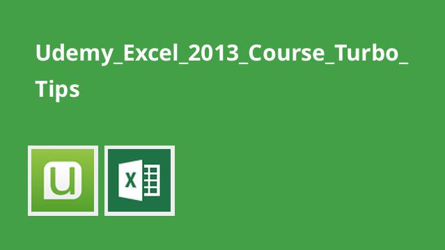 نکته های سریع در Excel 2013