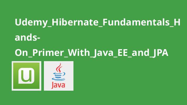 آموزش مبانیHibernate و ایجاد اپلیکیشن باJava EE و JPA
