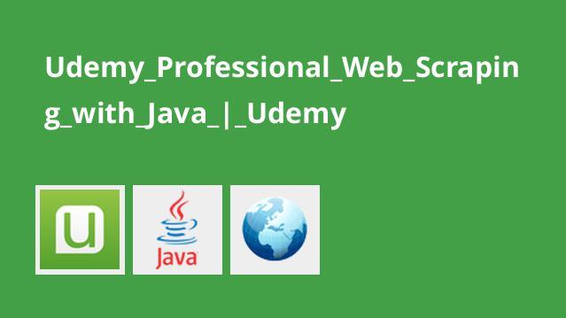 آموزش حرفه ایWeb Scraping با جاوا