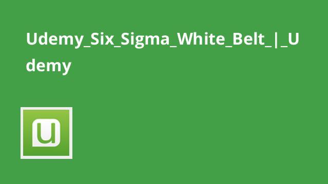 دوره گواهینامه White Belt Six Sigma برای بهبود رضایت مشتری