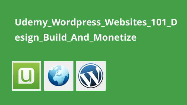 طراحی، ساخت و کسب درآمد از وب سایت با WordPress