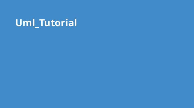 آموزش کامل UML