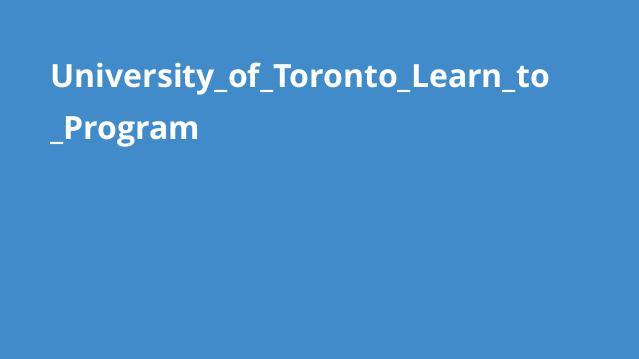 دوره آموزش برنامه نویسی دانشگاه Toronto