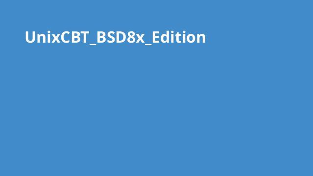 دوره BSD8x Edition