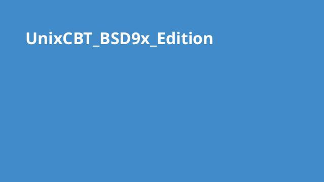 دوره BSD9x Edition