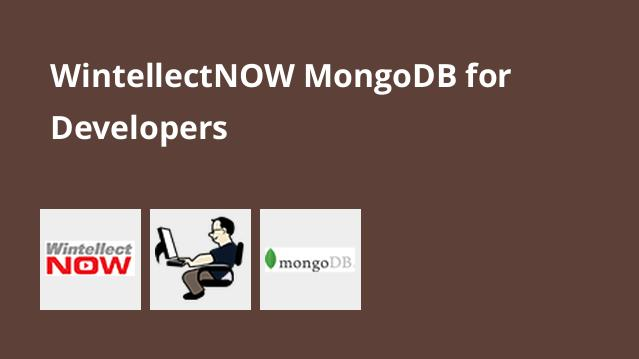wintellectnow-mongodb-for-developers