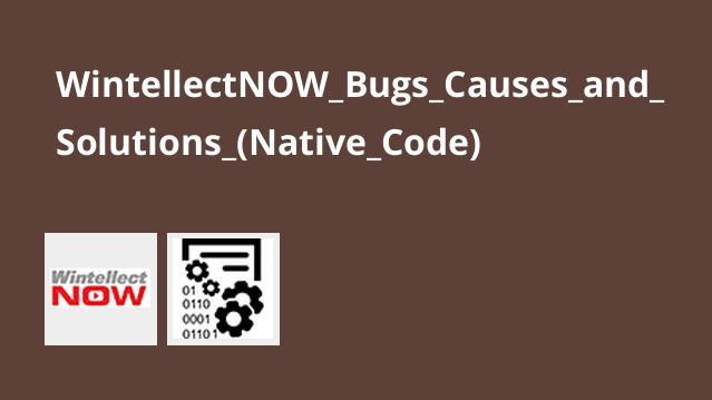 آموزش دلایل ایجاد و راه حل های باگ هایNative Code