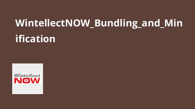 آموزش پیاده سازی Bundling و Minification برای اپلیکیشن