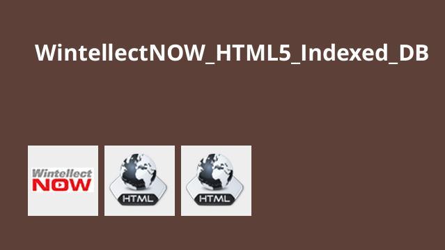 دوره HTML5 Indexed DB