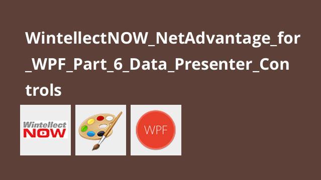 آموزشNetAdvantage برایWPF – قسمت 6 –Data Presenter Controls
