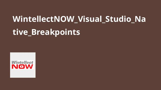 آموزش Native Breakpoints در Visual Studio