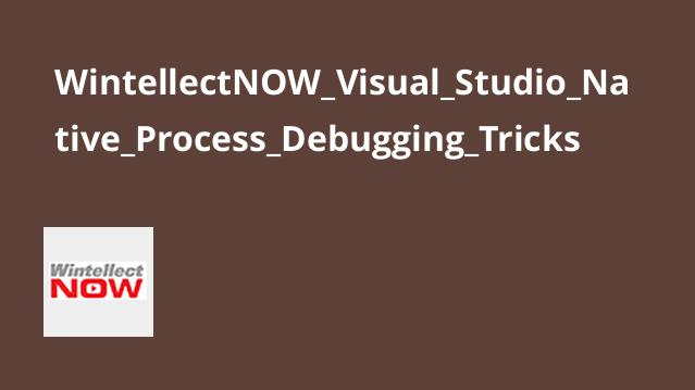 آموزش ترفندهای Native Process Debugging در Visual Studio