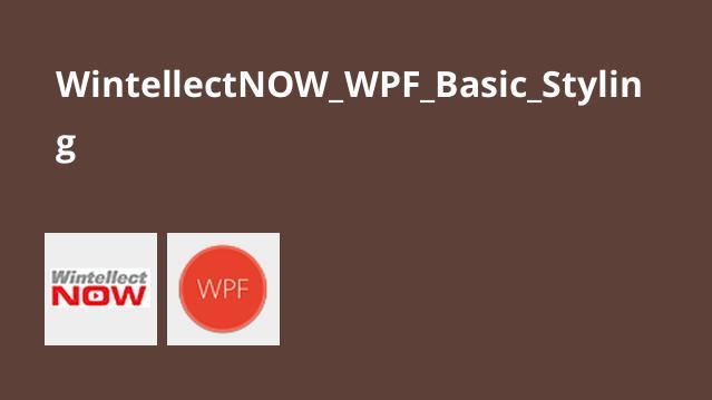 آموزش مبانیStyling درWPF